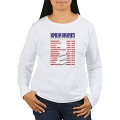 Napoleon_Tour Women's Long Sleeve T-Shirt