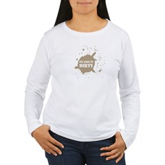 Mud Run Women's Long Sleeve T-Shirt