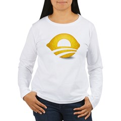 Lemon Presiden Women's Long Sleeve T-Shirt