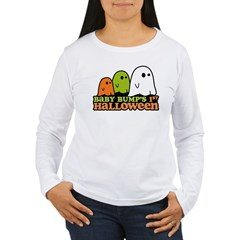 Baby Bump's 1st Halloween Women's Long Sleeve T-Shirt