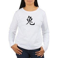 2011 Chinese New Year of The Rabbi Women's Long Sleeve T-Shirt