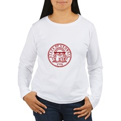Georgia Seal & Map Women's Long Sleeve T-Shirt