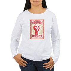 Resist 2 Women's Long Sleeve T-Shirt