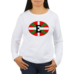 E Flag Women's Long Sleeve T-Shirt