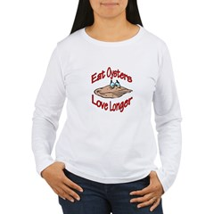 Oysters Women's Long Sleeve T-Shirt