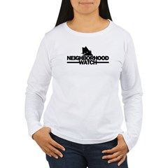 neighborhood watch Women's Long Sleeve T-Shirt
