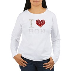 I heart Ron Paul Women's Long Sleeve T-Shirt