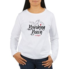 Breaking Dawn Feathers Women's Long Sleeve T-Shirt