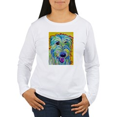 Irish Wolfhound Women's Long Sleeve T-Shirt
