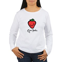 Give Tanks - Women's - Fresh Strawberry Women's Long Sleeve T-Shirt