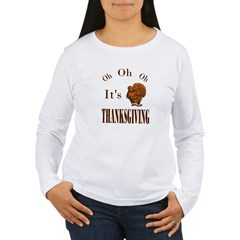 It's Thanksgiving! Women's Long Sleeve T-Shirt