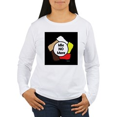 Idle No More - Five Hands Women's Long Sleeve T-Shirt