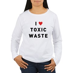toxic_01f.jpg Women's Long Sleeve T-Shirt