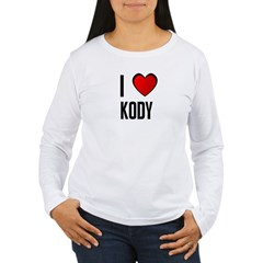 I LOVE KODY Women's Long Sleeve T-Shirt