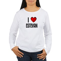 I LOVE ESTEVAN Women's Long Sleeve T-Shirt