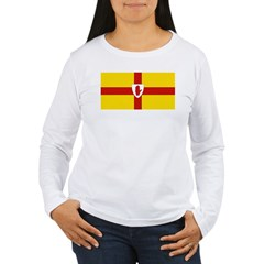 Ulster Flag Women's Long Sleeve T-Shirt