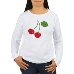 Classic Cherry Women's Long Sleeve T-Shirt