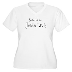 Soon Josh's Bride Women's Plus Size V-Neck T-Shirt