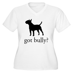 got bully? Women's Plus Size V-Neck T-Shirt