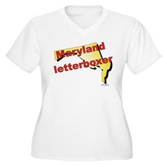 Maryland Women's Plus Size V-Neck T-Shirt