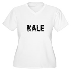 Kale Women's Plus Size V-Neck T-Shirt