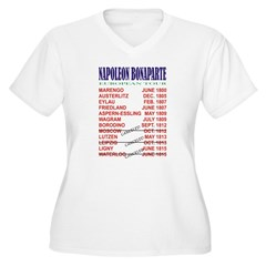 Napoleon_Tour Women's Plus Size V-Neck T-Shirt