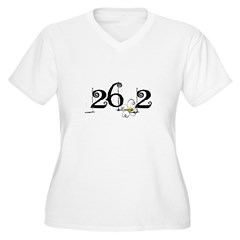 26.3 Daisey Design Women's Plus Size V-Neck T-Shirt