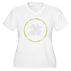 O'Bama Irish Drinking Team Women's Plus Size V-Neck T-Shirt