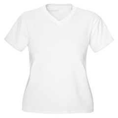 OUR FIRST CHRISTMAS 2011 Women's Plus Size V-Neck T-Shirt
