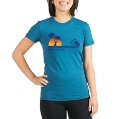 California Organic Women's Fitted T-Shirt (dark)