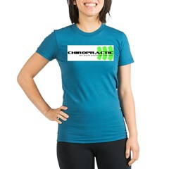 green Organic Women's Fitted T-Shirt (dark)