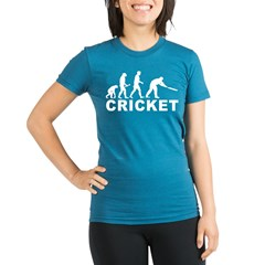 Cricket Evolution Organic Women's Fitted T-Shirt (dark)