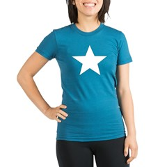 Star Organic Women's Fitted T-Shirt (dark)