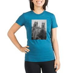 York Minster Organic Women's Fitted T-Shirt (dark)
