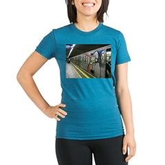 metro Organic Women's Fitted T-Shirt (dark)