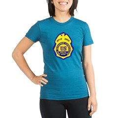 DEA Special Agen Organic Women's Fitted T-Shirt (dark)