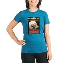 ww1blackwatch Canada Organic Women's Fitted T-Shirt (dark)