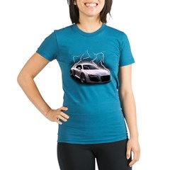 Joels car Organic Women's Fitted T-Shirt (dark)