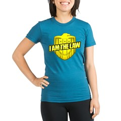 I AM THE LAW: Judge Dredd Organic Women's Fitted T-Shirt (dark)