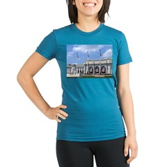 Washington DC Organic Women's Fitted T-Shirt (dark)