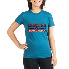 Dexter Organic Women's Fitted T-Shirt (dark)