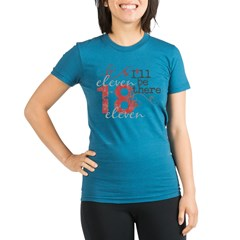 Breaking Dawn 11.18.11 Organic Women's Fitted T-Shirt (dark)