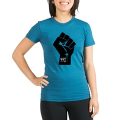 99 % Fis Organic Women's Fitted T-Shirt (dark)