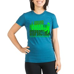 I Wear Lime 6.4 Lymphoma Organic Women's Fitted T-Shirt (dark)