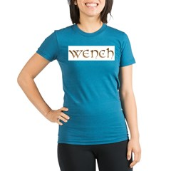 wench.jpg Organic Women's Fitted T-Shirt (dark)