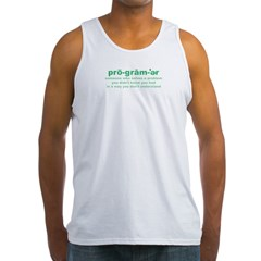 Programmer Problems Men's Tank Top