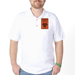 Hazardously Wasted Golf Shirt