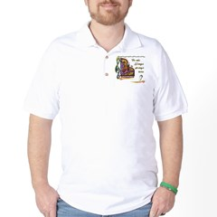 HeWhoSings_8x8transp_apparel Golf Shirt