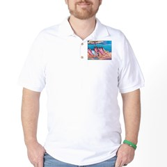 Beach Chairs Golf Shirt