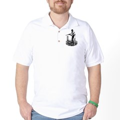 Cricket Player Golf Shirt